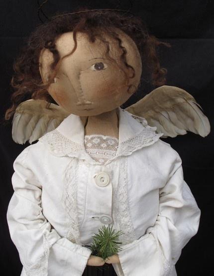 Angel I made for PRIMS magazine premier issue
