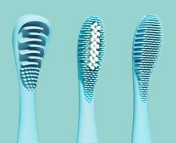 ISSA Sonic Electric Toothbrush with silicone design | FOREO