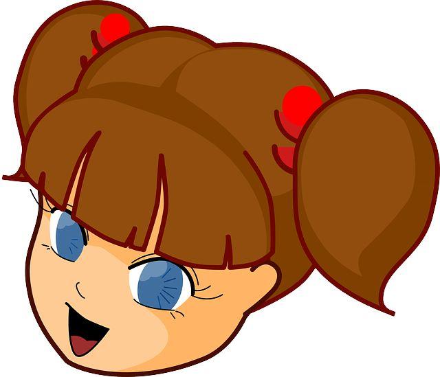 Бесплатное изображение на Pixabay - Девочка, Голова, Манга