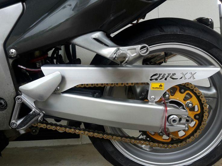 Honda CBR 1100 blackbird   with scottoiler