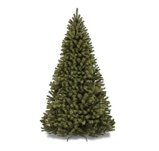 Artificial Christmas Tree Pine Shape With Stand Holiday Decor 7.5' Tall Green  #Unbranded