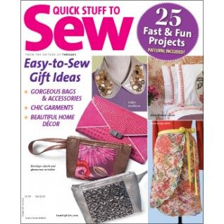 52 best sewing and craft magazines images on pinterest for Quick and easy sewing projects to sell