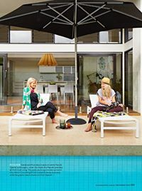 From the Home Beautiful Magazine Australia December issue featuring our Neutra easy chairs, Forum Loungers and a very cute shorthaired pointer.  http://www.coshliving.com.au/