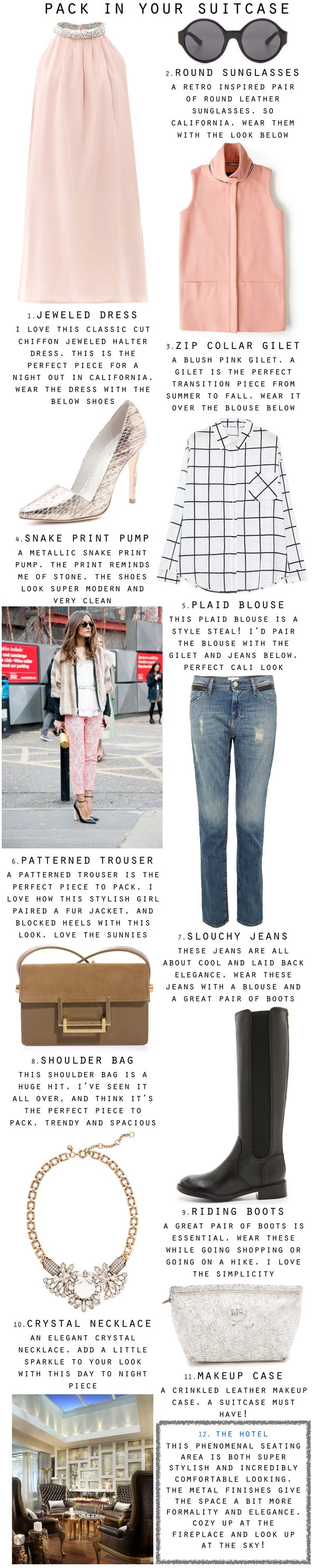 Fashion pairings perfect for The Huntley Santa Monica!