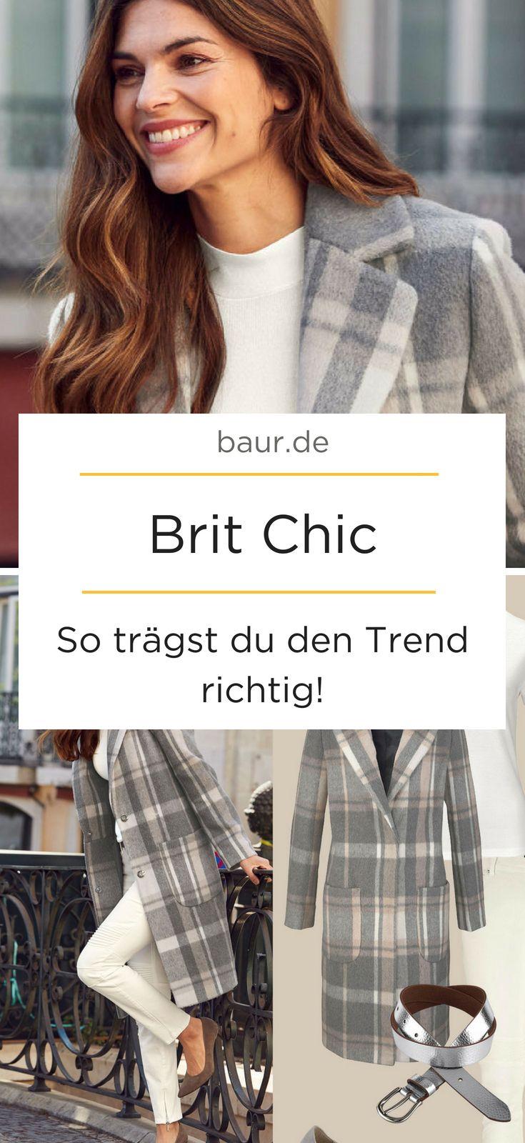 Brit Chic Mode Und Wohnen Im Britischen Stil Schicke Kleidung Modetrend Outfit Ideen