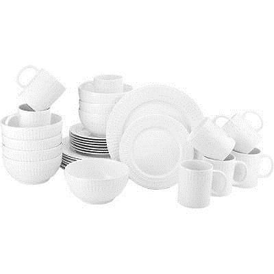 Dinner Service Sets 36032: Pfaltzgraff 5135137 32 Piece Cassandra Porcelain Dinnerware Set For 8 -> BUY IT NOW ONLY: $49.88 on eBay!