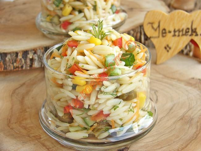 Barley Noodles Salad Recipe | Recipes (From Turkish Cuisine) In English