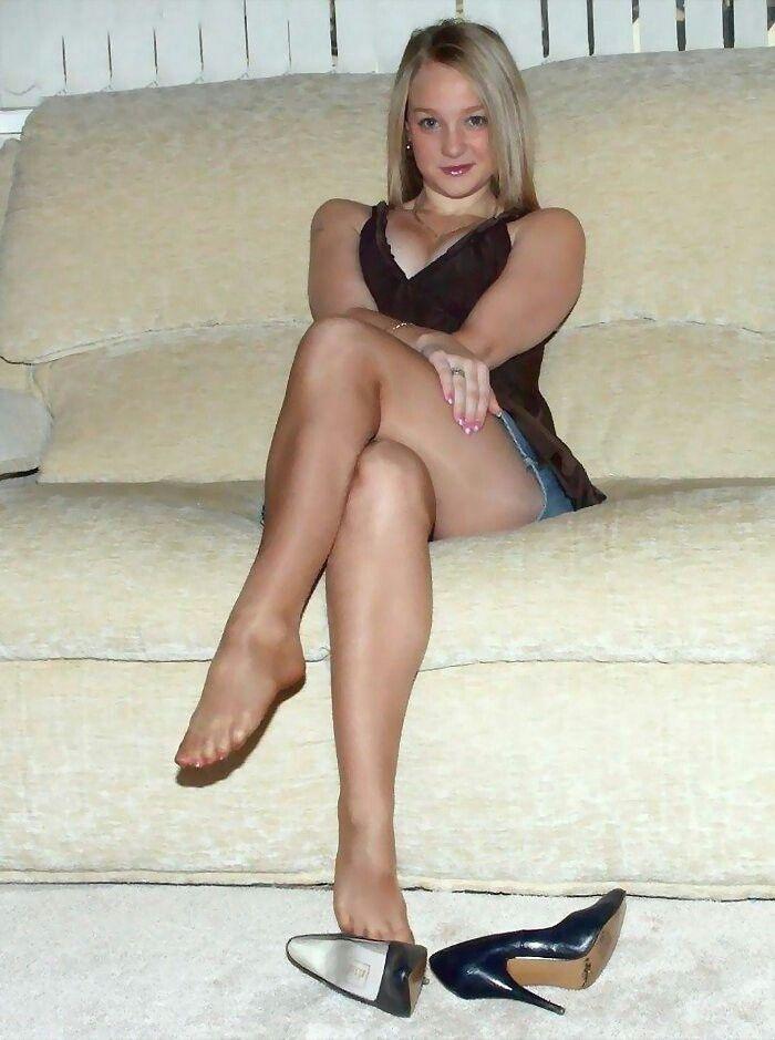 Pantyhose young photo
