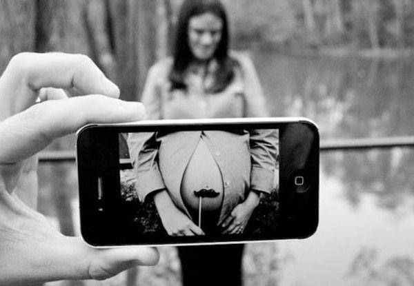33 dicas para fazer um ensaio fotográfico divertido durante a gravidez | MdeMulher