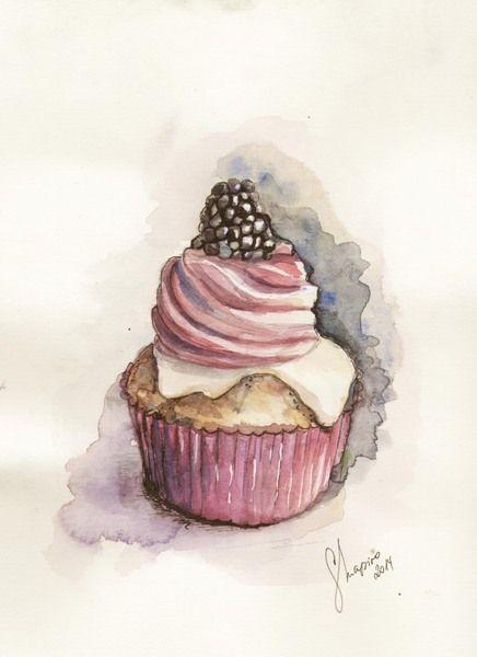 Cupcake+Original+von+colorpaperprincess+von+color+paper+princess+auf+DaWanda.com