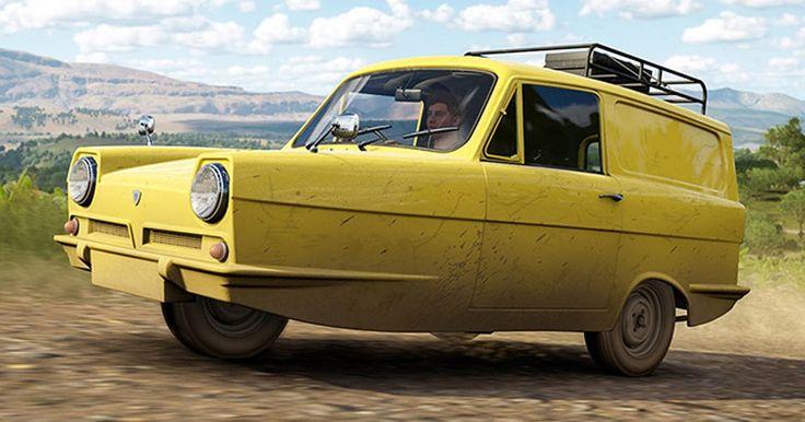 Reliant Supervan Joins Horizon 3 As Forza's First Three-Wheeler #Forza #Games