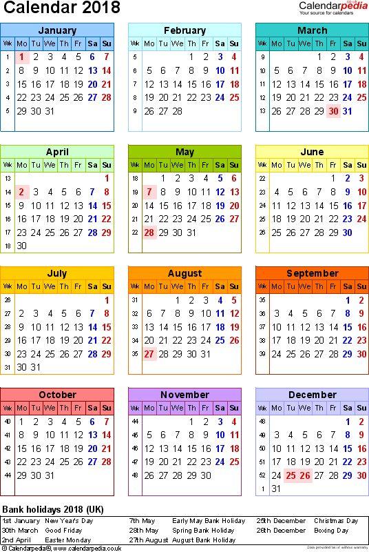 25 best 2018 Calendar images on Pinterest - sample academic calendar
