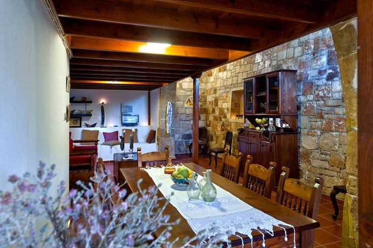 Check out this awesome listing on Airbnb: Traditional Cretan Stone House - Houses for Rent in Kolymvari