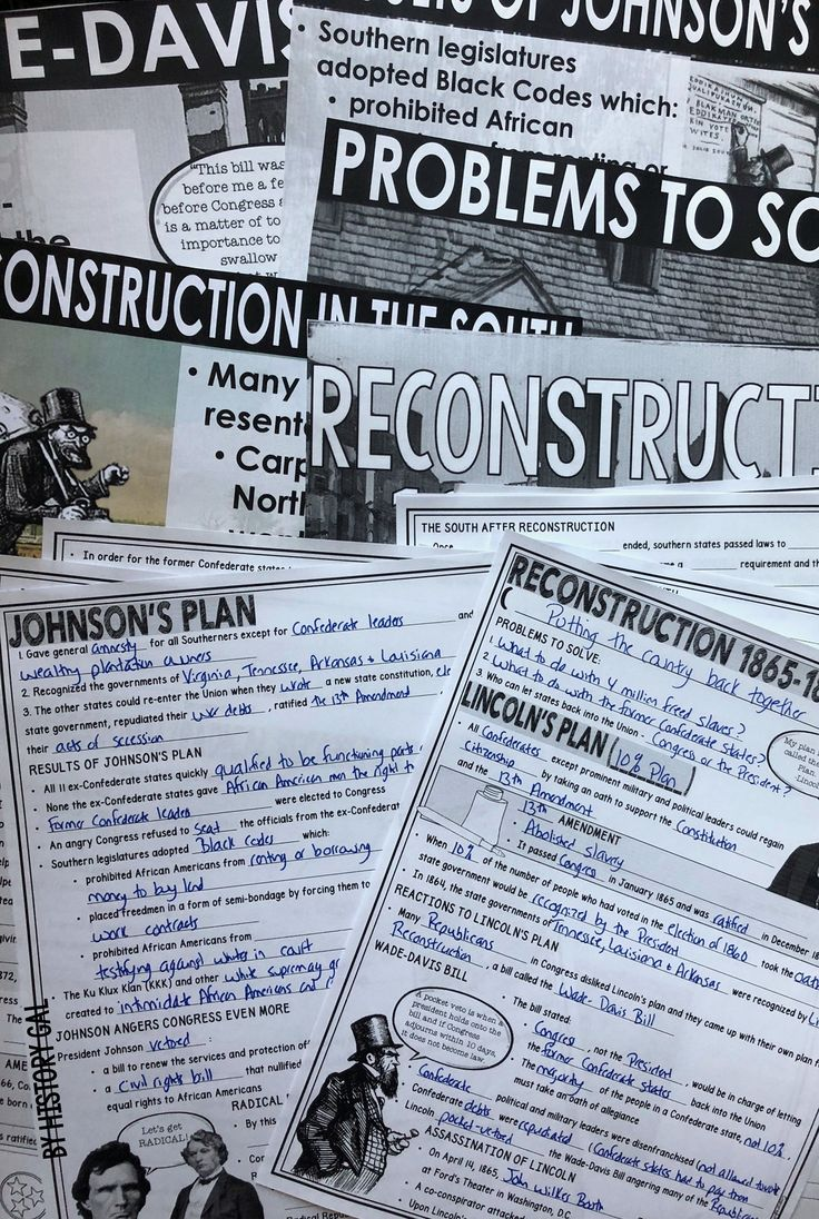 the failure of the reconstruction after the civil war in the united states The reconstruction after the civil war  during the reconstruction, the united states was able to become united, but the one leaguering aspect was the failure.