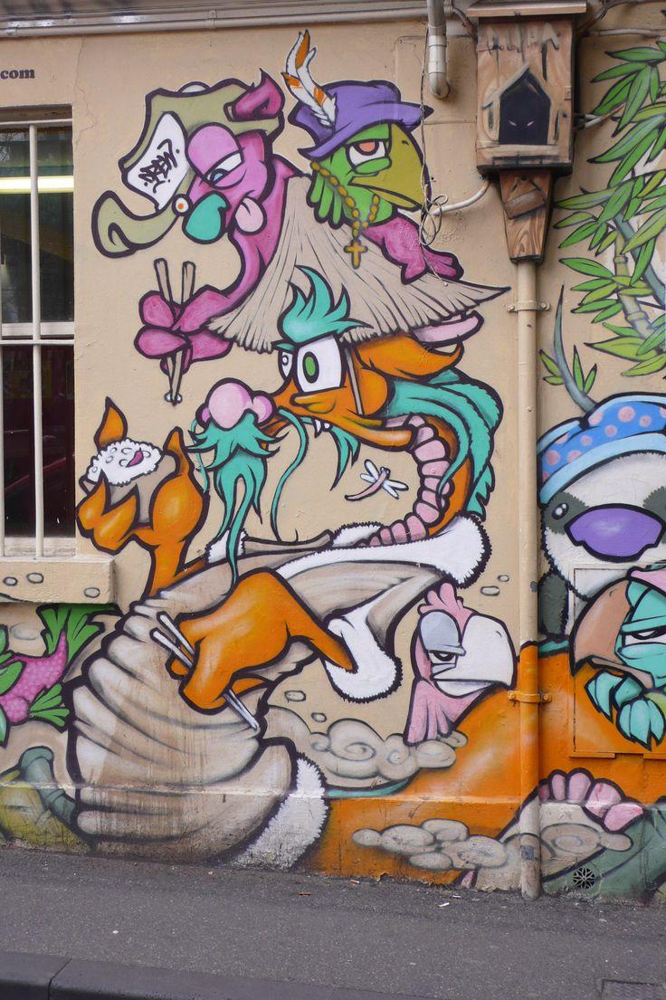 Graffiti art ideas - Noodle Dragon By Drew Funk 2012 Little Lonsdale St Melbourne Building Demolished Street Art Graffitidragonpublic
