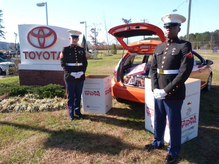 1st annual Casey Toyota Toy Run for Toys for Tots