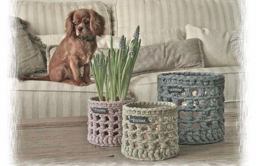 Ideas y patrones para decorar la casa con trapillo (El blog de trapillo.com)