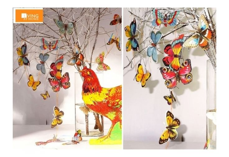 Flatterhaft! 72 verschiedene Schmetterlingsglanzbilder - -Living at Home  - Kirsch Interior. 82418 Murnau . Berggeist 4.