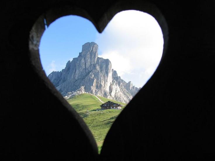 I looove it :-) Cortina Dolomites, Italy  www.ladinia.it