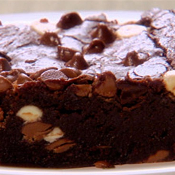 Try this Triple Chocolate Brownies recipe by Chef Anna Olson. This recipe is from the show Fresh.