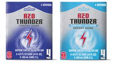 Red Thunder Energy Drink  Exactly like Red Bull.