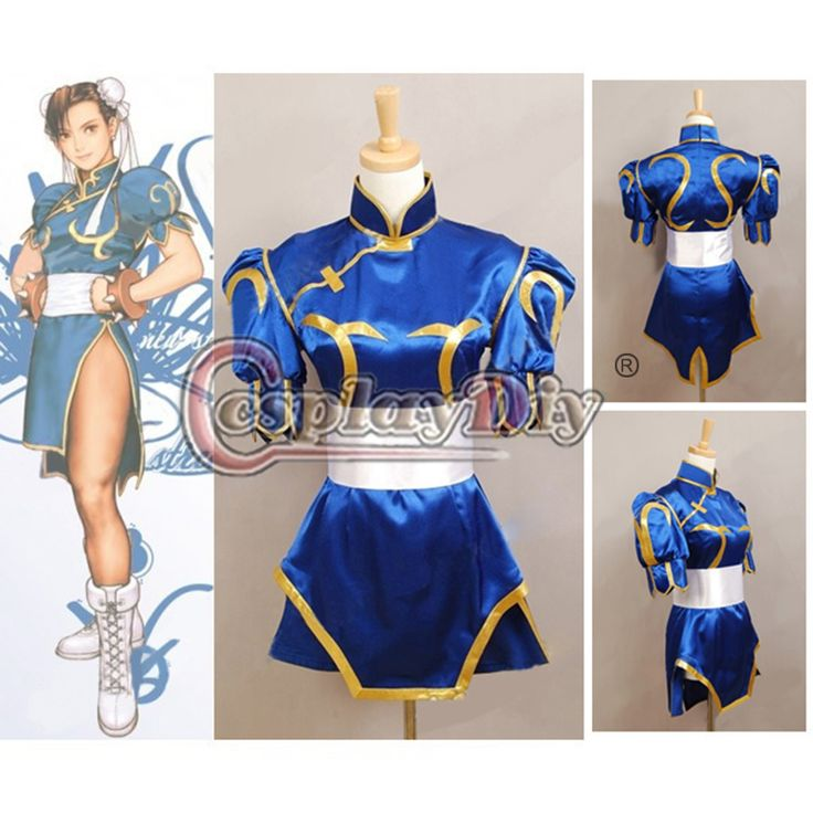 Custom Made Street Fighter Chun Li Costume Game Cosplay Costume - shop onlineMeasurement: Please leave your bust,waist,hip and total height(from head to toe) measurment when you place order,thanks for your kind cooperation If you do not want to measure yourself,please choose your size according to the size chart Shipping : We will ship to worldwide ,you can choose the shipping method according to your time needs. 1.china ...