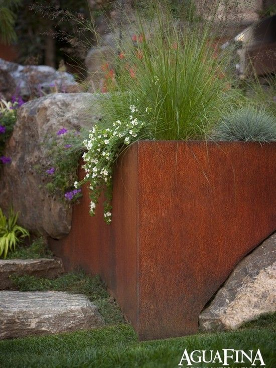 Steel Planter Box Design, Pictures, Remodel, Decor and Ideas - page 2