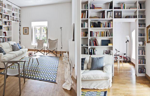 1000+ idee su Librerie A Parete su Pinterest  Scaffali soggiorno ...