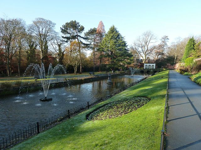 Canal Gardens Roundhay Park Leeds Yorkshire -I remember taking Sue & John here. Happy times!