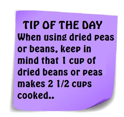 This is the same for rice, found out the hard way. Tip of the Day