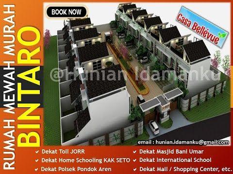 Dijual Rumah Mewah Murah Casa Bellevue Residence Di Bintaro | Cocok Buat Hunian / Investasi Property - YouTube