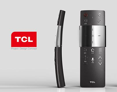 """Check out new work on my @Behance portfolio: """"TCL Remote Control Design"""" http://be.net/gallery/40504643/TCL-Remote-Control-Design"""