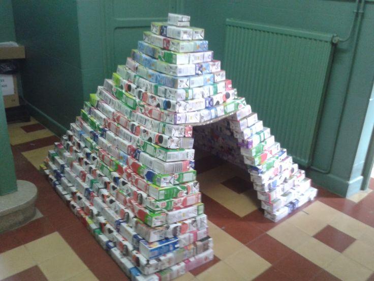 Yo en mi cole...: Acabamos la pirámide