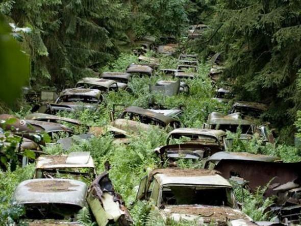 Niesamowicie klimatyczne, opuszczone miejsca