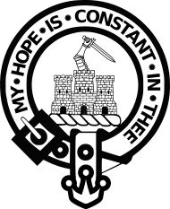 The Macdonald Crest. My hope is constant in thee.