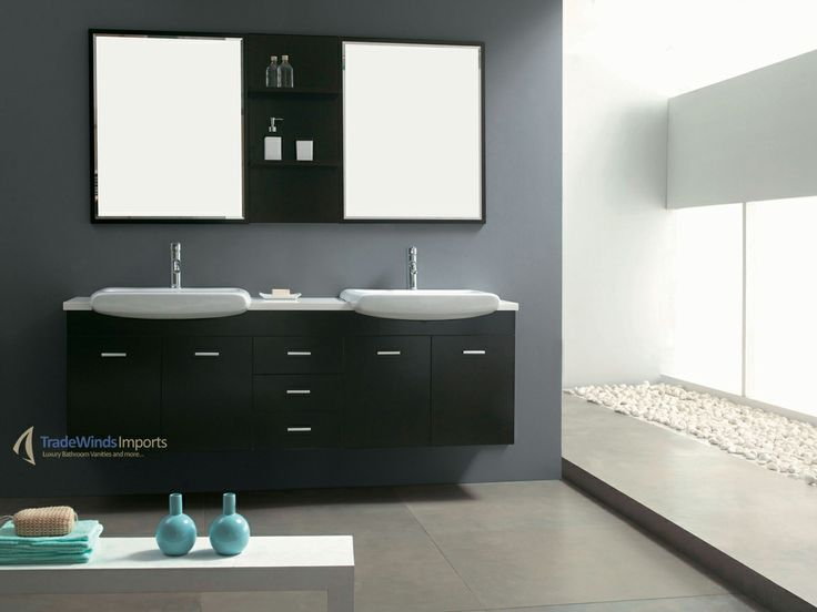 184 Best Modern Vanities Images On Pinterest  Bathroom Ideas Enchanting Modern Bathroom Vanity 2018
