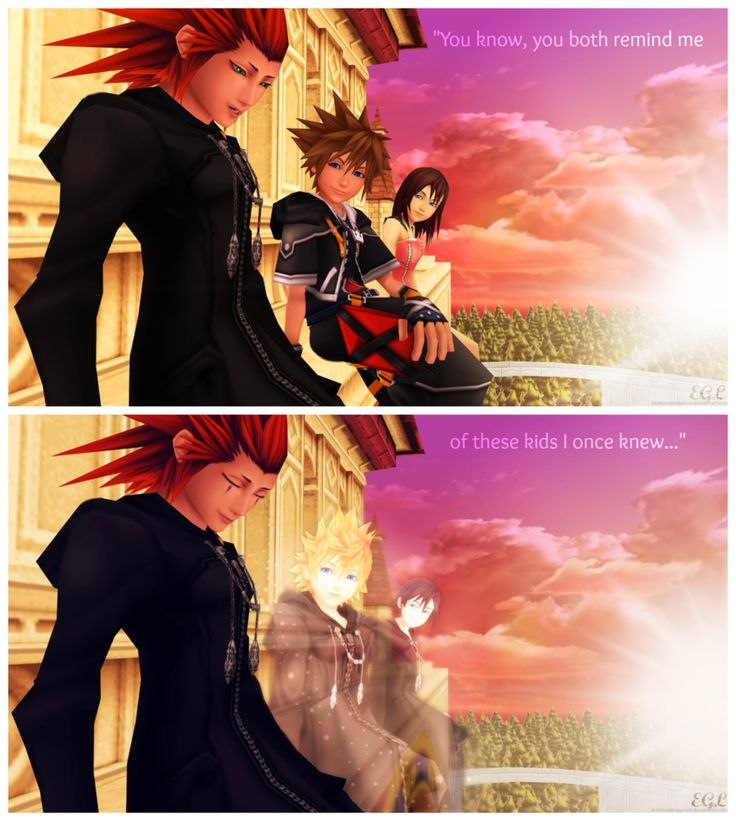 """You know, you both remind me of these kids I once knew"" OMG I'd die if this was in KH 3"