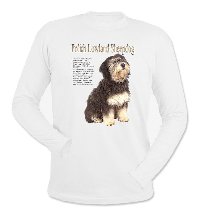 Polish Lowland Sheepdog Long Sleeve T-Shirt