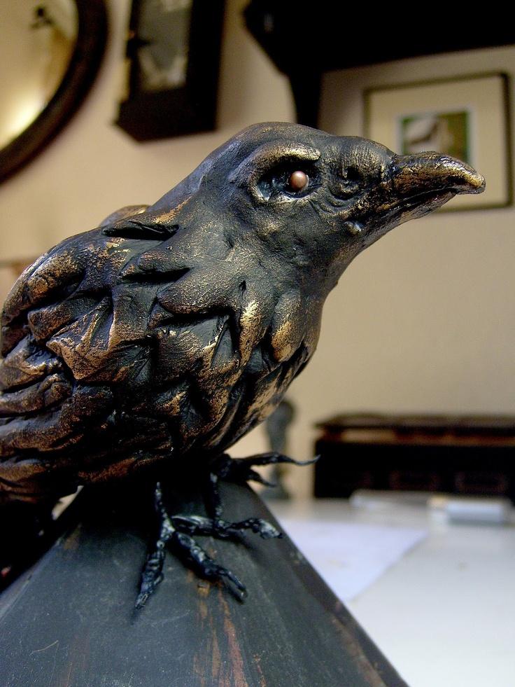 hitchcock crow halloweendecor