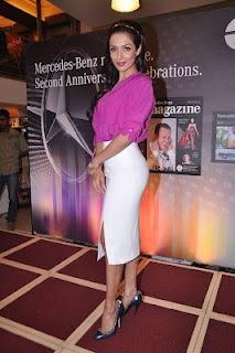 Malaika Arrora Khan at Mercedes Benz Magazine Launch. | Bollywood Cleavage