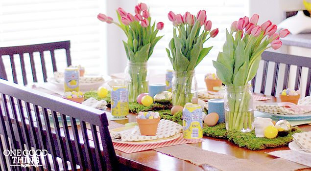 A Festive And Affordable Easter Dinner Celebration ~ from place settings to decorations to recipes (Costco, Target & Walmart to the rescue!)