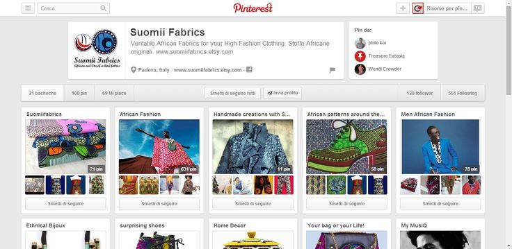 Suomii Fabrics Profile Pinterest. Profile collecting pins abour African Fabrics and related products.