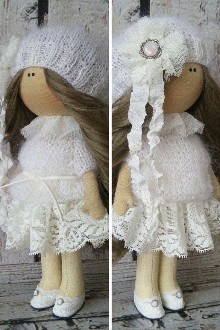 Rag doll doll Tilda doll Art doll handmade by AnnKirillartPlace