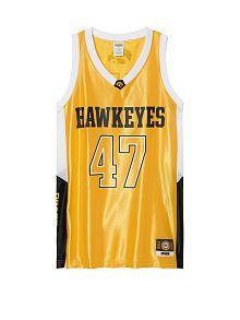 University Of Iowa Oversized Basketball Jersey Dress