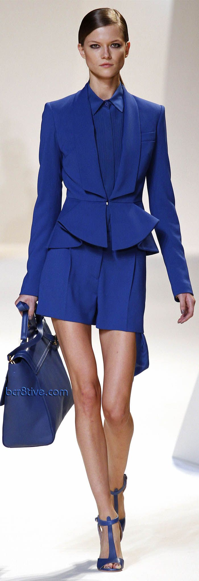 Elie Saab SS 2013 RtW  Updated Power Suit - All Business   PattyonSite