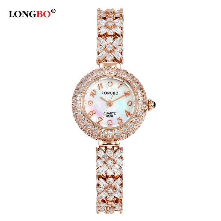 Find More Fashion Watches Information about LONGBO Brand New Luxury Diamond Women Dress Bracelet Watch Elegant Crystal Ladies Waterproof Quartz Watches Rose Gold & Silver,High Quality silver dress watch,China watch machine Suppliers, Cheap watch solar from YIKOO fashion watches on Aliexpress.com