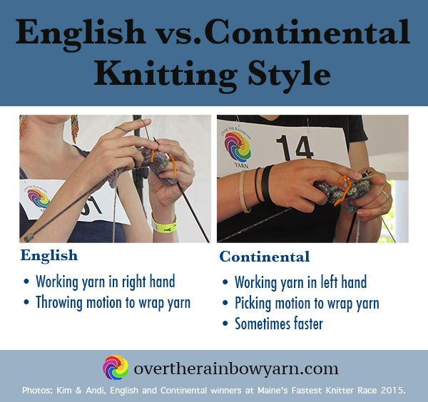 Knitting Yarn Over Continental Style : Best yarn school images on pinterest knits knitting