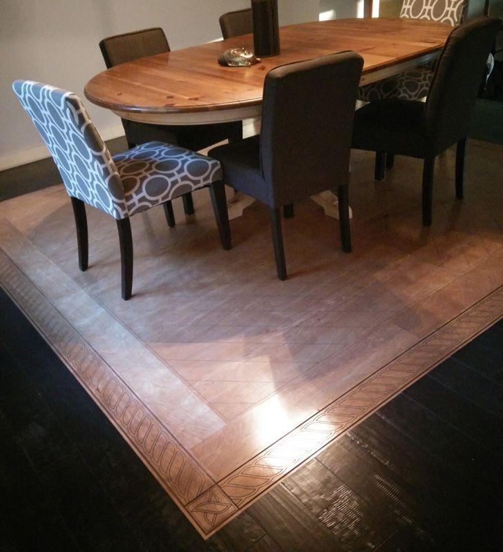 "Prefinished wood flooring permanent ""tattoo"" designs. #parquet #parquetry #pattern #woodtile #woodfloor #wood #woodworking #woodfloordesign #inlay #floortattoo #interiordesign #art #design #floor #functionalart #hardwoodfloor #prefinished #marquetry #engineeredwood #lasercut #floordesign"