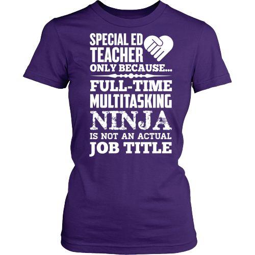 Special Education Teacher - Multitasking Ninja