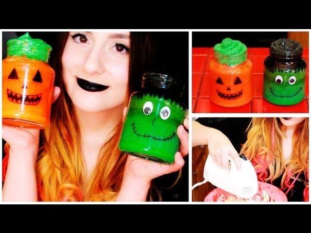 ¡Cómo hacer pastelitos lindísimos en un frasco para Halloween! Súper divertido - Raiza Revelles